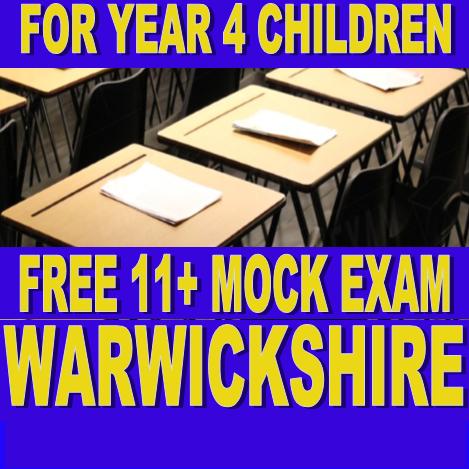 Birmingham Free 11 Plus Mock Exam